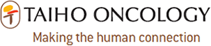 Taiho Oncology logo: Making the human connection